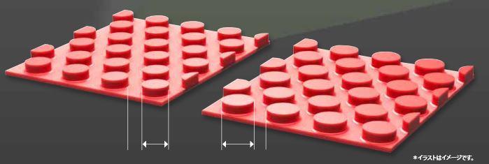 粒の形状の拡大図と違い